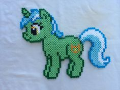 Lyra Heartstrings - My Little Pony Friendship is Magic perler beads by PrettyPixelations