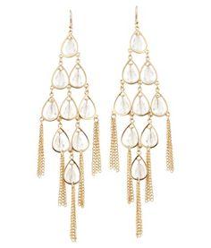 Lipsy Heart Drop Earrings   Get together again   Pinterest   Heart ...