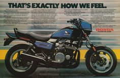 honda nighthawk s Excellent bike! I got an 1985 model new and rode it until 2010 and sold it to my son. It still runs like a top! I had it up to 135 mph once just for the experience, it got really smooth at 120 but I never did that again. Honda Nighthawk, Honda Bikes, Honda Cb, Moto Chopper, Vintage Bikes, Retro Bikes, Montreal Ville, Old Motorcycles, Cafe Racer Motorcycle