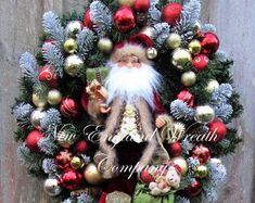 Your place to buy and sell all things handmade Easter Wreaths, Christmas Wreaths, Valentine Wreath, Valentines, Dining Room Blue, Victorian Gardens, Heart Wreath, Country French, Event Design