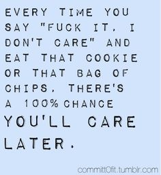 You will care.