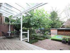 Grote zonnige tuin in Kralingen Rotterdam   Inrichting-huis.com