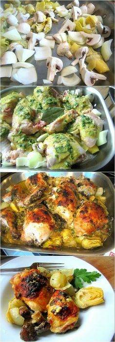 How To Baked Artichoke Chicken