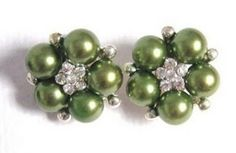 pretty green pearls by christy