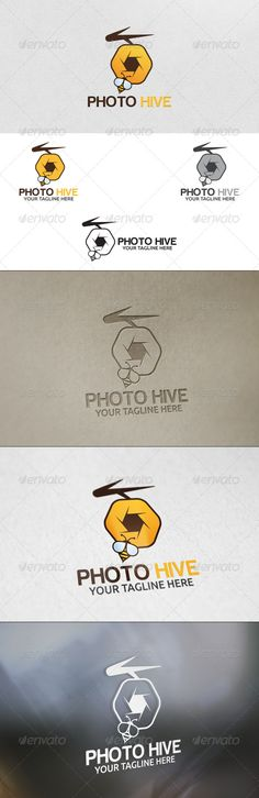 Photo Hive - Logo Template
