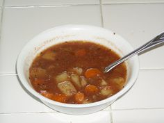 What's Cooking?: Crockpot Vegetable Beef Soup