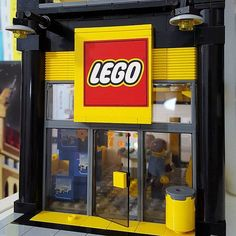 #Lego store coming along. Pick-a-brick wall back lighting … | Flickr #buildingtoy