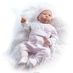 Lalka Reborn Lucia - 51 cm Dziewczynka z Limitowanej Kolekcji Bebe Real na rok 2014 Stworzona w Hiszpanii przez artystę Salvadora