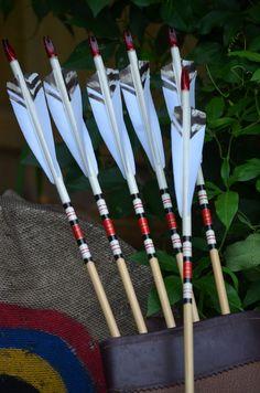 Archery arrows Port Orford cedar arrows by PodunkHollow on Etsy