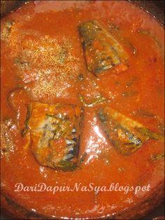 Dari Dapur NaSya: Asam pedas ikan sardin
