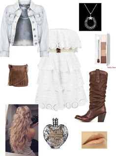 """""""country date """" by nicoleyokota ❤ liked on Polyvore"""