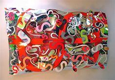 Ciel Rouge  Plafond 220 x 120 cm