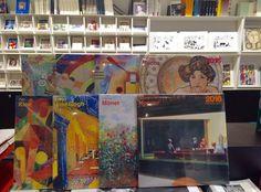 ¡¿Que aún no tienes calendario del 2016?! #LibreríaMPM te propone a Klimt,Hopper o Mucha como compañeros de este año