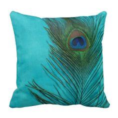 844 Best Peacock Linens Pillows Images Pillows Peacock