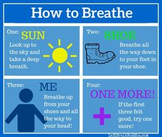 Simple Mindful Breathing Practices for Kids How to Breathe: simple ways to teach mindful breathing to kids!How to Breathe: simple ways to teach mindful breathing to kids! Guided Mindfulness Meditation, Teaching Mindfulness, Mindfulness Exercises, Mindfulness For Kids, Mindfulness Activities, Meditation Kids, Mindfulness Therapy, Counseling Activities, School Counseling