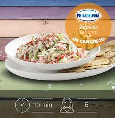 Descubre como hacer un delicioso Salpicón de surimi de cangrejo en tan solo 10 minutos.