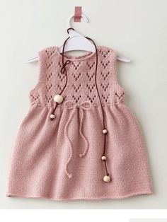 "Elbise [ ""Ravelry Knit : La robe pattern by Phildar Design Team"", ""Knitted dress for a toddler"", ""Adorable lace and string. Very nice color."", ""Light and fresh summer dress"", ""no pattern but pretty little dress"" ] #<br/> # #Baby #Knitting,<br/> # #Baby #Knits,<br/> # #Layette,<br/> # #Baby #Dresses,<br/> # #Little #Dresses,<br/> # #Lovely #Dresses,<br/> # #Summer #Dresses,<br/> # #Knitting #Patterns,<br/> # #Crochet #Pattern<br/>"