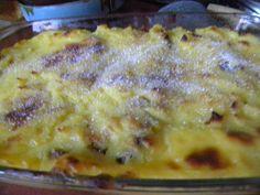 Panettone pudding cu vanilie