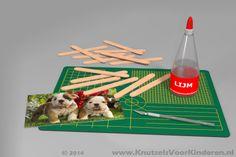 Puzzel van ijsstokjes - Knutsels Voor Kinderen - Leuke Ideeën om te Knutselen met Duidelijke Uitleg