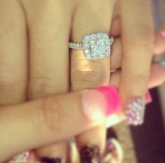 My ring!  #weddingring