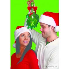 With the Inflatable Mistletoe, you can claim lots of holiday smooches everywhere you go!: http://www.dannabananas.com/inflatable-mistletoe/