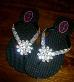 acef2715aa77 53 Best Bling flip flops images