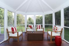 Screened In Porch Design Ideas, Pictures, Remodel and Decor