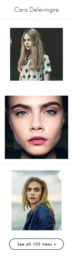"""Cara Delevingne"" by erintheartbtch ❤ liked on Polyvore featuring cara delevingne, faces, cara, people, photo, pictures, models, cara delevigne, . and celebrities"
