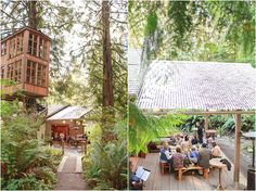 Love this view of the Pond Room and TreeHouse Point. Courtesy of Lloyd Photographers.