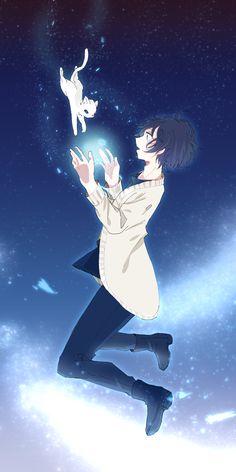 Your side 2 Gato Anime, Cute Anime Chibi, Chica Anime Manga, Anime Neko, Anime Guys, Anime Art, Yandere, Neko Kawaii, Cute Anime Cat