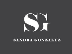 An alternative logo concept I developed for Sandra Gonzalez, a personal trainer and motivational speaker.