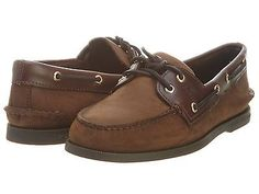 Sperry Authentic Original Mens 0195412-BROWNBUCK Casual Boat Shoes Size 10.5