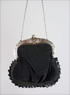 Who doesn't  need a Victorian Mourning purse. I don't know how I have lived