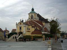 Burial place of composer Joseph Haydn in Eisenstadt, Austria