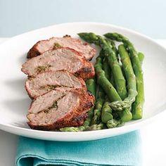 Grilled Pork Tenderloin with Aquavit Seasoning