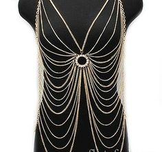 Fashion For The Curvy Girl: Body Chains!