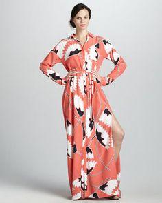 95f77ee7c79 Diane von Furstenberg Laramie Belted Maxi Dress - ShopStyle Day