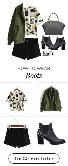 """""""Shein t shirt"""" by blueeyed-dreamer on Polyvore featuring casual, contest and shein"""