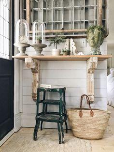 DIY Corbel Entryway Table - Liz Marie Blog