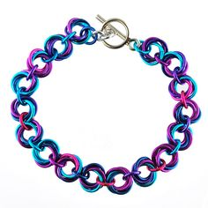 FLOWERS BRACELET Chainmaille DIY Jewelry Class | Jan. 7 Chicago | Rebeca Mojica | Blue Buddha Boutique