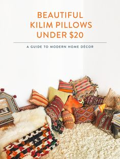 Buy Beautiful Kilim Pillows for Under $20
