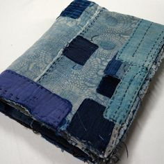 Beautiful blues patched boro