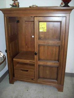 Bon TV Armoire For Flat Screens