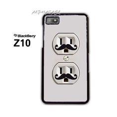 I Mustache You a Question BB BlackBerry Z10 Z 10 Case