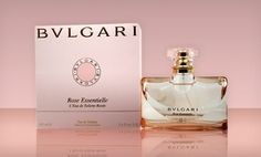Bulgari Rose Essentielle - I love this, floral and musky! Bvlgari Rose Essentielle, Glass Bottles, Perfume Bottles, Global Style, Best Perfume, List, Jewelry Crafts, This Or That Questions, Floral