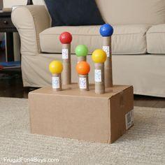 Knock the Balls! Nerf Target Game