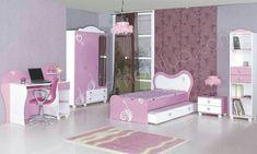 Girl Bedroom Designs, Girls Bedroom, Bedroom Ideas, Closet Bedroom, Girl Room, Baby Room, Kids Furniture, Toddler Bed, Kids Rooms