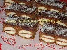 Perník s piškoty Desserts, Food, Tailgate Desserts, Deserts, Essen, Postres, Meals, Dessert, Yemek