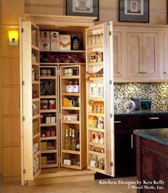 Cupboard love...