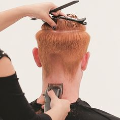 Men's Overdirected Clipper Cut from TONIandGUY - Behindthechair.com Simply Hairstyles, Young Mens Hairstyles, Cut Hairstyles, Latino Haircuts, Haircuts For Men, Back Of Head Shaved, Mens Clipper Cuts, Toni And Guy Salon, Mens Hair Clippers